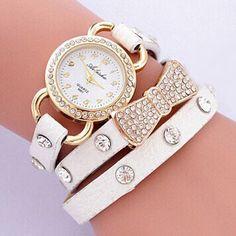 cute white watch...summer watch