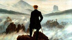 Wanderer above the sea of fog by Caspar David Friedrich. Used by costume designers when dressing Tom Hiddleston.