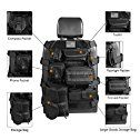 Amazon.com: Universal Seat Cover Case with Organizer Storage Muti Pocket fit Jeep Wrangler Unlimited CJ YJ Cherokee Rubicon Ford F150 Ridgeline Seat Protector Multiple Pockets: Automotive