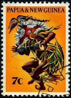 1971 Papúa Nueva Guinea-Bailarín Siaa