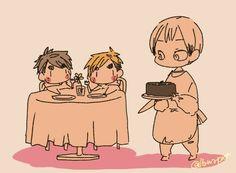 Haruichi Furudate, Haikyuu Volleyball, Kenma, Haikyuu Anime, Cute Drawings, Chibi, Twins, Art Gallery, Kawaii