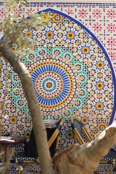 The Grande Mosque de Paris Cafe