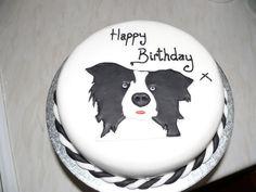 a Border Collie Cake!