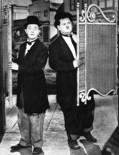 Way Out West is a Laurel and Hardy comedy film released in It was directed by James W. Horne, produced by Stan Laurel and distributed by Metro-Goldwyn-Mayer. Laurel And Hardy, Stan Laurel Oliver Hardy, Great Comedies, Classic Comedies, Classic Movies, Comedy Duos, Comedy Films, Classic Hollywood, Old Hollywood