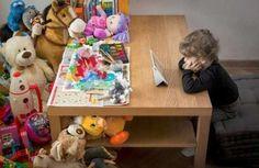 Jeux pour enfant vs tablette ... #stuff