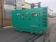 This Cummins acoustic diesel generator was supplied to one of the Uk's largest electrical component wholesalers for use at one of their main office sites as backup power. Silent Generator, Engineering Companies, Electrical Components, Generators, Cummins, Acoustic, Diesel, Locker Storage, Delivery