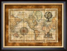 Antique-World-Map.jpg (473×363)