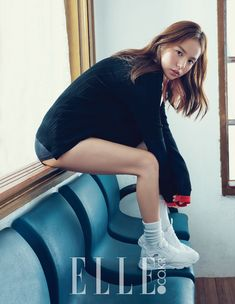 Min Hyo-rin beautiful day | Elle Korea (ELLE KOREA)
