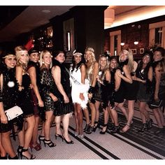 Great Gatsby Bachelorette Party - Charleston, South Carolina