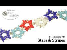 ▶ Stars & Stripes (Bracelet, Necklace, Earrings, Pendants) - YouTube