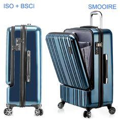 Big brand design polycarbonate PC travel trolley luggage
