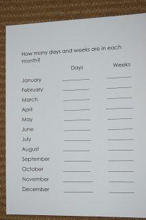 """Making Montessori Ours"": Calendar Work"
