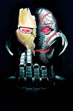 Ultron by Mike Del Mundo