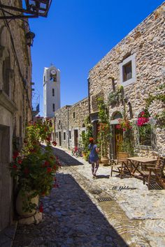 GREECE CHANNEL | by Ali YILDIRIM on 500px #mesta village, #Chios http://www.greece-channel.com/