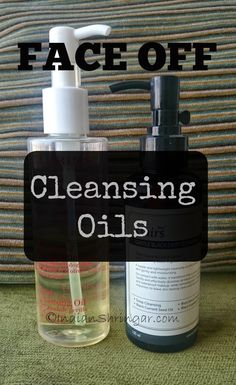 Cleansing Oil Face Off featuring Clarins Total Cleansing Oil and Klairs Gentle Black Deep Cleansing Oil