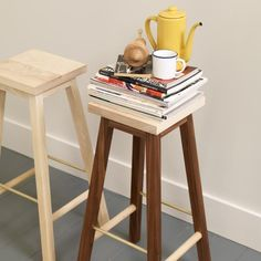 Another Country Ash Bar Stool Two