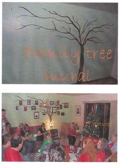 family tree mural ideas | Via Bethany Peterson-Ayres