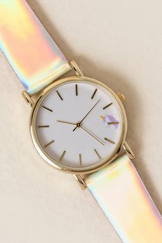 Charlie Iridescent Unicorn Watch
