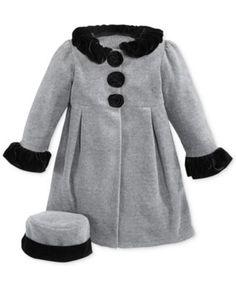 Good Lad Little Girls' or Toddler Girls' 2-Piece Fleece Hat