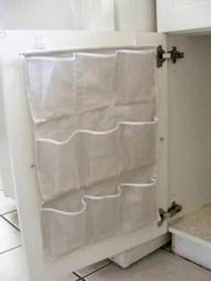 shoe rack to organize under sink storage
