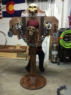 Pirate Halloween Haunt Stockade