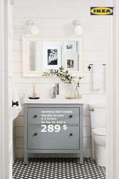 Miroir, miroir, quelle salle de bains est la plus belle? Tous les meubles de salles de bains, incluant les éviers et robinets, sont réduits de 15% jusqu'au 30 octobre.