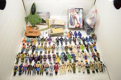Vintage Cobra GI Joe 80s Mega Lot!  Over 80 Figures Army Builders Custom Fodder  #Hasbro