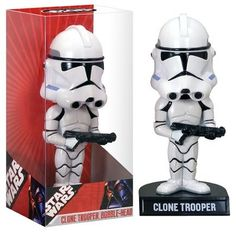 Boneco Star Wars StormTrooper Bobble Head Funko