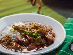 Valerie's Very Best Gumbo recipe from Valerie Bertinelli via Food Network