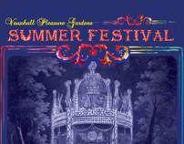 Summer Festival Programme by Sam Williams, via Behance