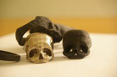3D printed skull rings - check out the print ready jewelry 3d models at The3dStudio.com