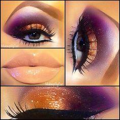 Pretty in a drag queen sorta way, but i love it, i can rock drag lol Love Makeup, Makeup Inspo, Makeup Inspiration, Beauty Makeup, Makeup Looks, Hair Makeup, Unique Makeup, Amazing Makeup, Gorgeous Makeup