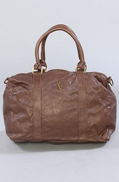 The Class & Style Duffel in Brown