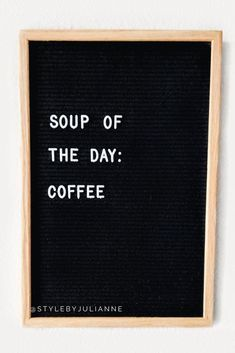 hilltop coffee shop juice bar letter board funny quotes felt