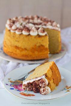 Chiffon Cake mascarpone e caffè…la Fluffosa Tiramisù   Dolci in Boutique
