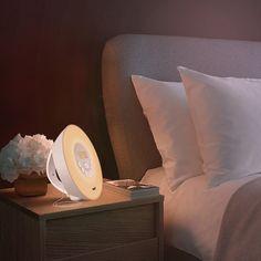 Wake-Up Light Colored Sunrise Alarm Clock #alarm, #clock, #light