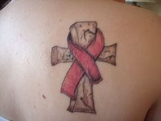 inspiration for my tat ... burgandy for multiple myeloma