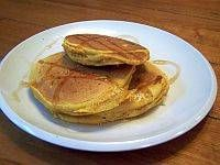 Easy pumpkin pancakes recipe using bisquick  These turned out yummy!  I will make them again.