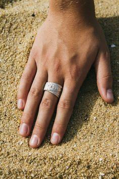 Silver Sea Urchin Ring by Kate Macindoe