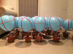 Hot air balloon favors