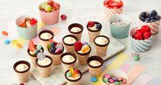 Bögrés piskóta - sütnijó! – Kipróbált sütemény receptek Baby Party, Trifle, Dessert Bars, Mini Cupcakes, Oreo, Brunch, Food And Drink, Candy, Snacks
