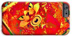 Design IPhone 6s Case featuring the digital art Feenez by Caroline Gilmore