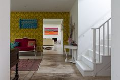 An Amazingly Artistic, Colorfully Patterned UK Home