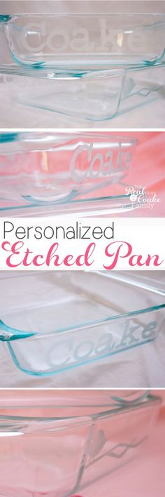 great gift ideas to make personalized pans for each family they will never lose their