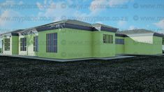 6 Bedroom House Plans – My Building Plans South Africa My Building, Building Plans, Home Design Plans, Plan Design, 6 Bedroom House Plans, Tuscan House Plans, House Plans South Africa, Floor Layout, Double Garage