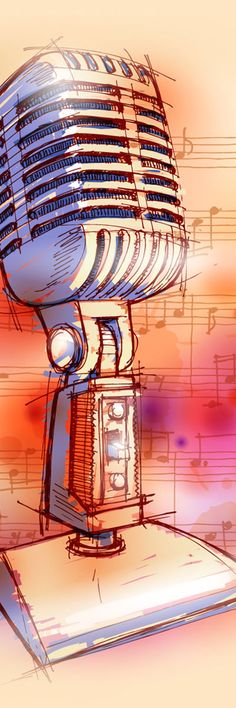 Vintage Microphones Discover how you can get a nice electronic accessories for your gadgets. Music Painting, Music Artwork, Art Music, Karaoke, Arte Emo, Mundo Musical, Music Flow, Vintage Logo, Chant