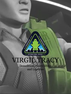VIRGIL TRACY : DEMOLITION, HEAVY LIFTING AND LOGISTICS. Thunderbirds Are Go, Kids Tv, Black Forest, Puppets, Cool Kids, Random Things, Maya, Nerd, Childhood
