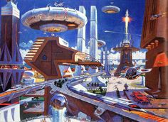 Future city.