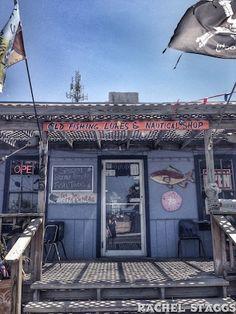 Seafood Market, Port Aransas, Texas  - photo by @rachelgoldstar