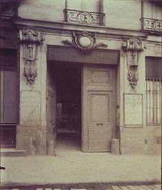 Hotel de la marquise de Ferrieres - 22 Rue de Bondy (10e) By Eugène Atget ,1909